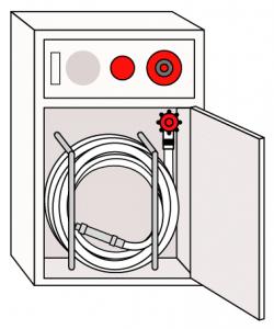 消火栓の絵