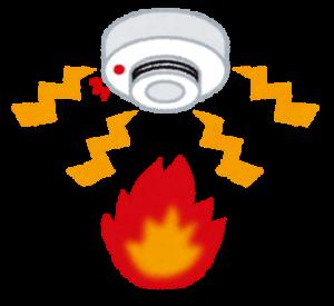 火災報知の絵